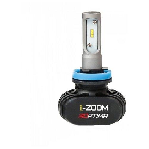 H11 Optima LED i-ZOOM, Seoul-CSP, Warm White, 9-32V, 2 лампы