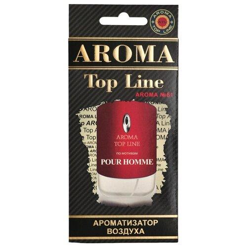 AROMA TOP LINE Ароматизатор для автомобиля Aroma №61 Givenchy Pour Homme 14 г