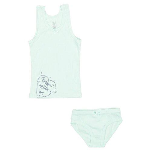 Купить Комплект нижнего белья RuZ Kids размер 140-146, мятный, Белье и купальники