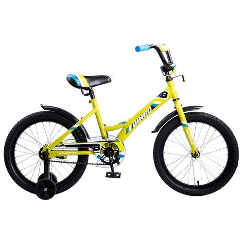 Детский велосипед Navigator Bingo (ВМ18109) желтый (требует финальной сборки)Велосипеды<br>