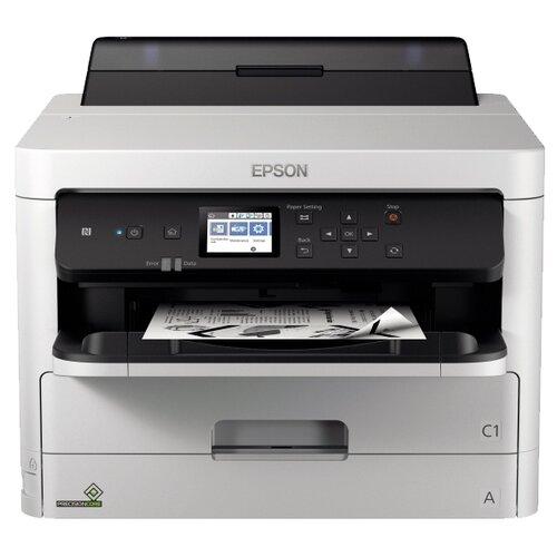 Фото - Принтер Epson WorkForce Pro WF-M5299DW, серый/черный компактный фотопринтер epson workforce wf 100w