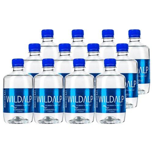Вода питьевая Wildalp негазированная, ПЭТ, 12 шт. по 0.5 л