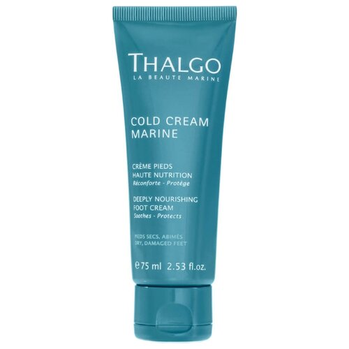 Thalgo Cold Cream Marine Крем для ног Deeply Nourishing 75 мл туба крем для тела thalgo indoceane silky smooth cream объем 150 мл