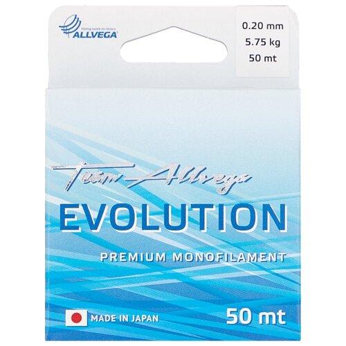Монофильная леска ALLVEGA EVOLUTION прозрачный 0.2 мм 50 м 5.75 кг