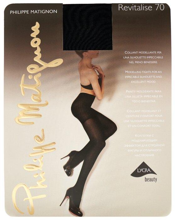 Колготки Philippe Matignon Revitalise 70 den, размер 3-M, nero (черный)