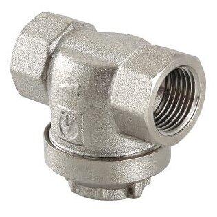 Фильтр механической очистки VALTEC VT.384 муфтовый (ВР/ВР), латунь, с магнитной вставкой