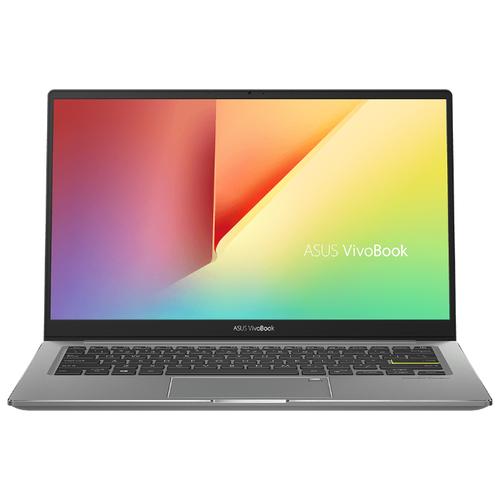 Ноутбук ASUS VivoBook S13 S333JQ-EG008 (90NB0QS4-M00250), черный/серый ноутбук asus vivobook 15 x512fa bq458t 90nb0kr3 m06430 серый