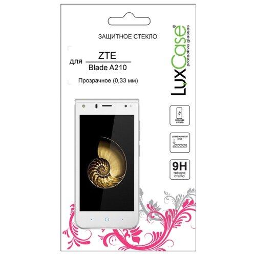 Защитное стекло LuxCase для ZTE Blade A210 прозрачный