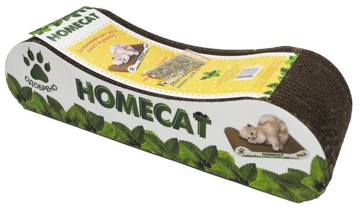 Когтеточка Homecat Мятная волна Mini для котят 12 х 9 х 8 см