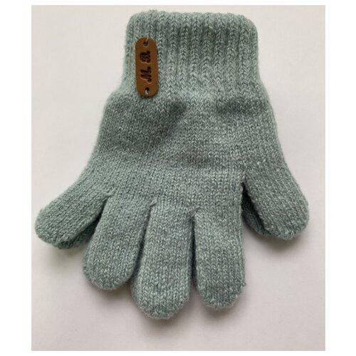 Перчатки Margot Bis размер 14, голубой серьги kameo bis kameo bis mp002xw1hvp1