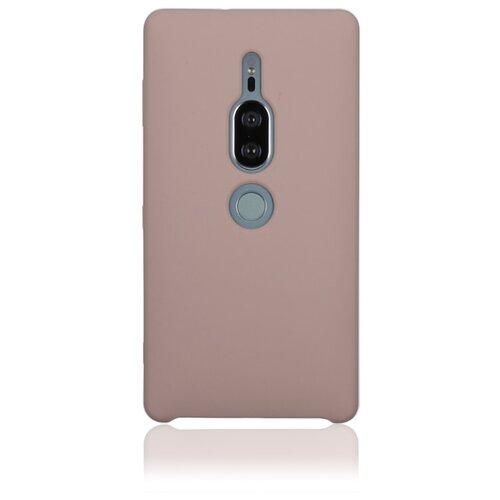 Чехол Rosco XZ2P-SOFTRUBBER для Sony Xperia XZ2 Premium розовый цена 2017