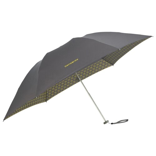Зонт механика Samsonite Up Way (6 спиц, маленькая ручка) asphalt grey/ yellow зонт derby 744168 p4 grey