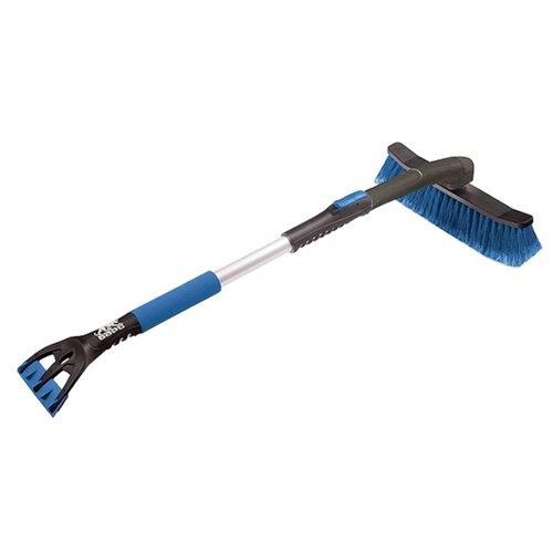 Телескопическая щетка-скребок БАРС 55324 черный/синий