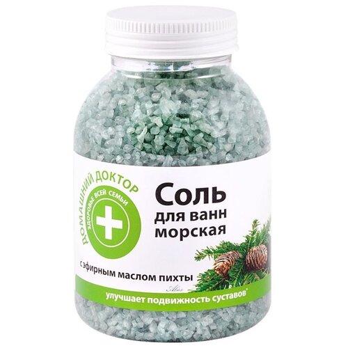 Домашний доктор Соль для ванн с экстрактом пихты 1000 г