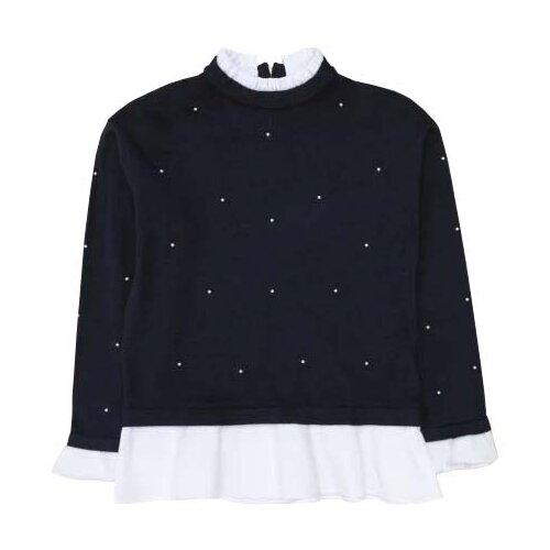 верхняя одежда acoola куртка детская для девочек цвет темно синий размер 98 20220130132 Джемпер Acoola размер 140, темно-синий