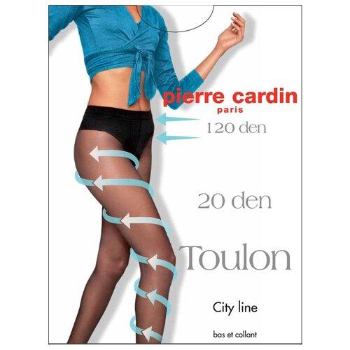 Колготки Pierre Cardin Toulon, City Line 20 den, размер IV-L, visone (бежевый)