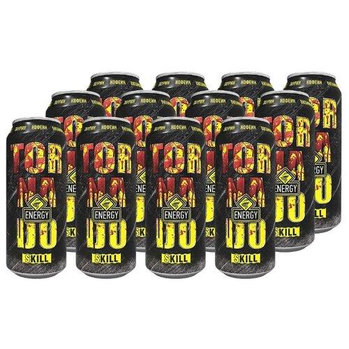Энергетический напиток Tornado Energy Skill, 0.45 л, 12 шт.