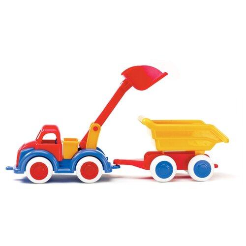 Экскаватор Viking Toys Джамбо с прицепом (1222) 25 см- преимущества, отзывы, как заказать товар за 1260 руб. Бренд Viking Toys