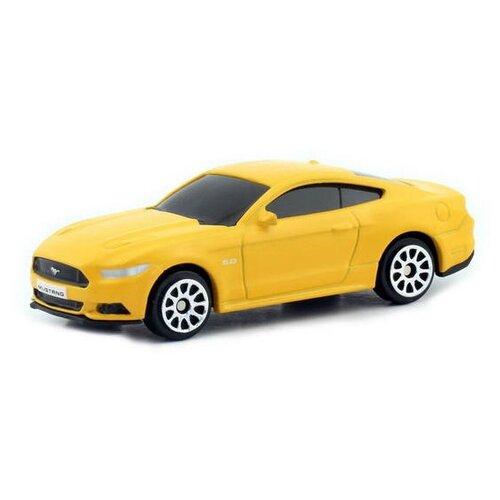 Купить Легковой автомобиль RMZ City Ford Mustang 2015 (344028SM) 1:64, желтый, Машинки и техника