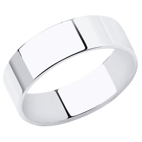 SOKOLOV Кольцо из белого золота 110230, размер 22.5