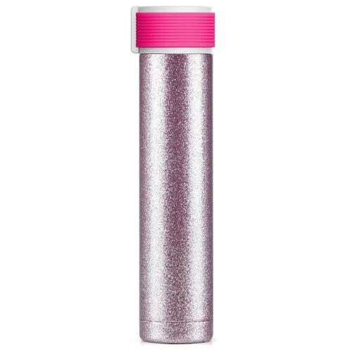 Фото - Термобутылка asobu Skinny Glitter (0,23 л) purple термобутылка asobu central park travel bottle 0 51 л медный серебристый