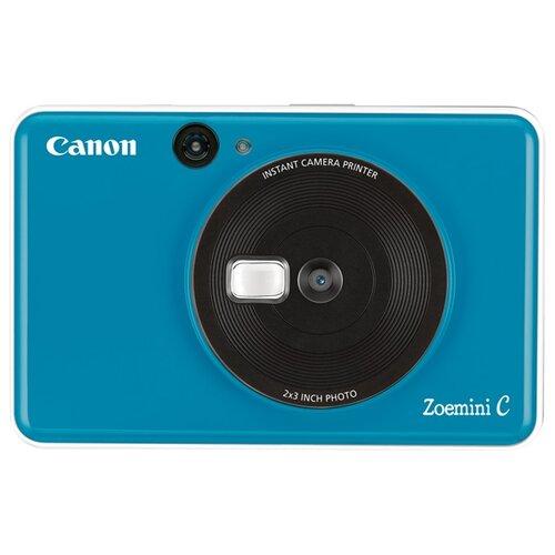 Фото - Фотоаппарат моментальной печати Canon Zoemini C, цвет морской волны фотоаппарат моментальной печати canon zoemini c цвет морской волны