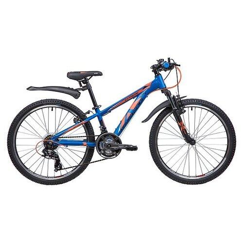 Подростковый горный (MTB) велосипед Novatrack Extreme 24 21 (2019) blue 11 (требует финальной сборки) novatrack extreme 24 черный