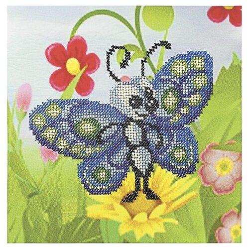 Купить Бисеринка Набор для вышивания бисером Летняя красавица 20 20 см (Б-0108), Наборы для вышивания