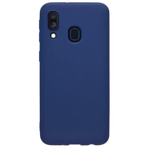 Чехол-накладка Deppa Gel Color Case для Samsung Galaxy A40 синий чехол deppa gel color case для samsung galaxy a30 a20 2019 синий