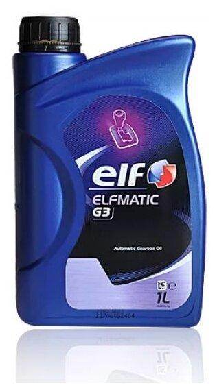 Трансмиссионное масло ELF Elfmatic G3 — купить по выгодной цене на Яндекс.Маркете – более 15 предложений