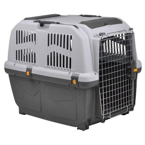 Клиппер-переноска для собак MPS Skudo 6 92х63х70 см серый/белый