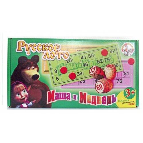 Настольная игра Десятое королевство Маша и медведь 01421