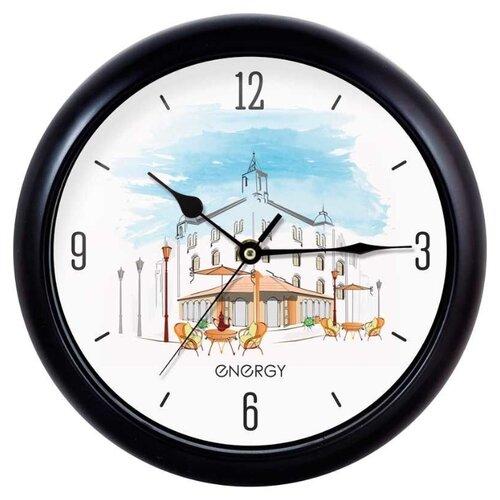 Часы настенные кварцевые Energy ЕС-105 кафе часы настенные energy d300мм