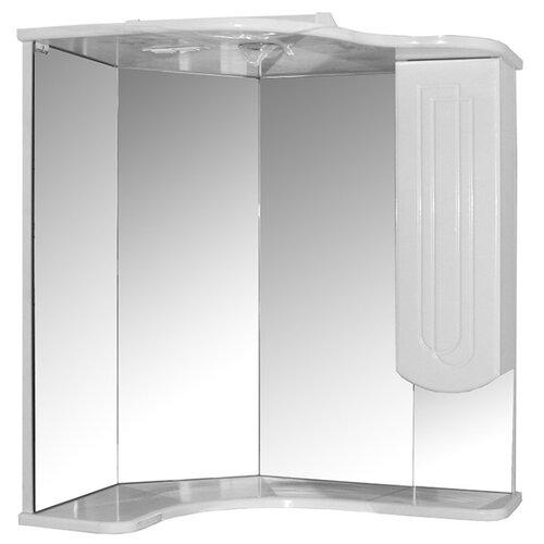 Шкаф для ванной Mixline Корнер правый, (ШхГхВ): 63х46х70 см, белый