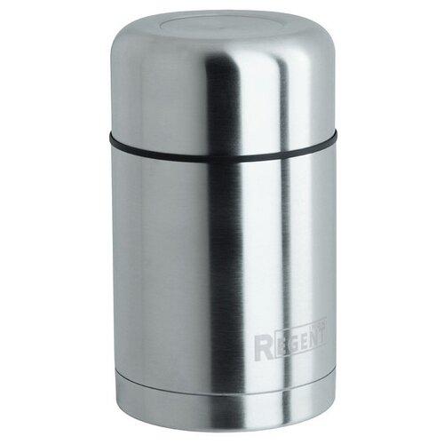Термос для еды REGENT inox Soup 93-TE-S-2-1200, 1.2 л серебристый