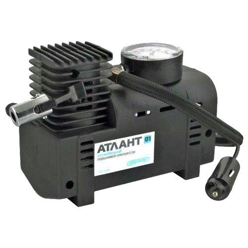 Автомобильный компрессор skyway Атлант-01 черный