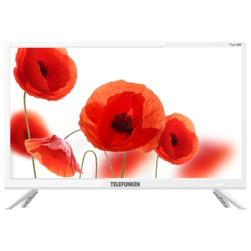 Телевизор TELEFUNKEN TF-LED24S72T2 23.6 (2019) белый led телевизор telefunken tf led24s72t2