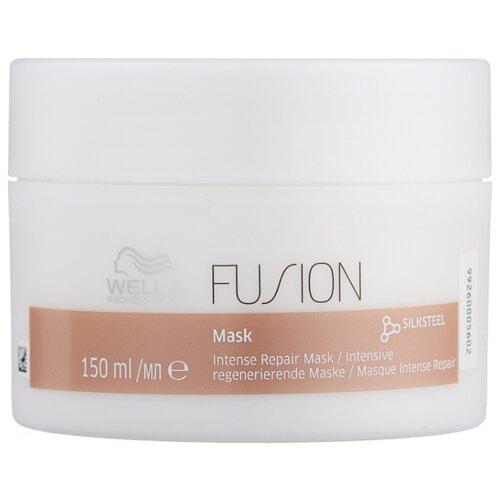 Wella Professionals FUSION Интенсивная восстанавливающая маска для волос, 150 мл wella амино сыворотка fusion интенсивная восстанавливающая 70 мл