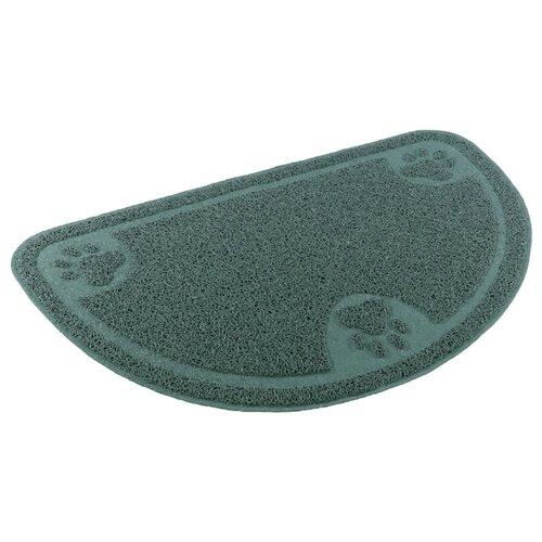 Коврик под туалет для кошек Ferplast Cat Door Mat серо-зеленый 1 шт. коврик ferplast охлаждающий