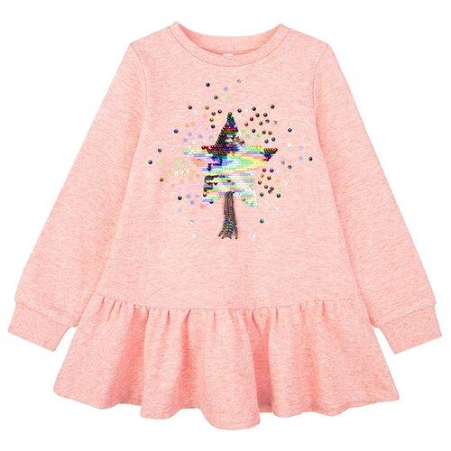 Купить Туника playToday размер 122, розовый, Футболки и майки