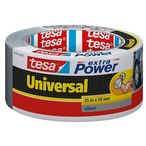 Фото - Клейкая лента универсальная Tesa 56388, 50 мм x 25 м клейкая лента малярная tesa 55592 36 мм x 50 м
