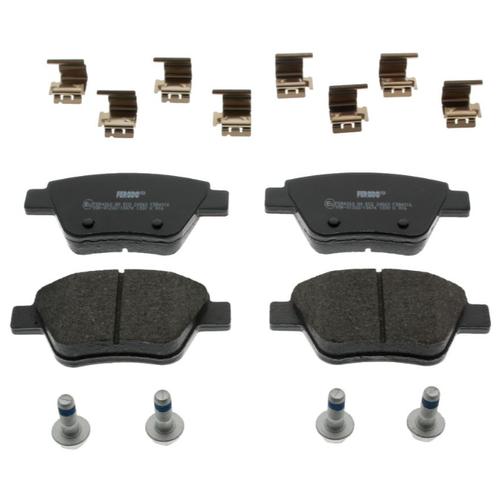 Дисковые тормозные колодки задние Ferodo FDB4316 для Audi, SEAT, Skoda, Volkswagen (4 шт.) дисковые тормозные колодки передние marshall m2621974 для skoda volkswagen seat audi 4 шт