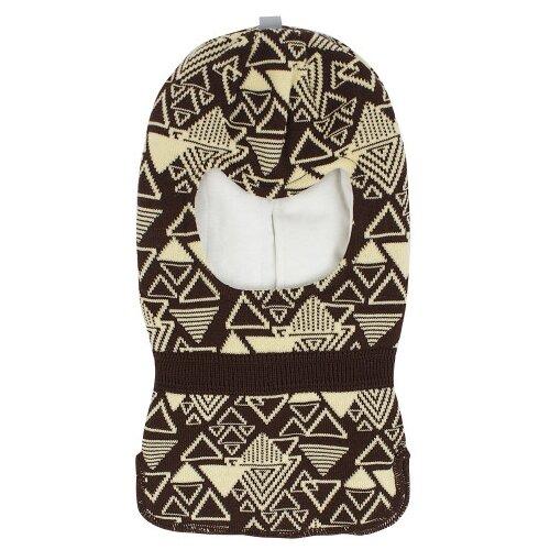 Купить Шапка-шлем Prikinder размер 46-48, хаки/лимонный, Головные уборы