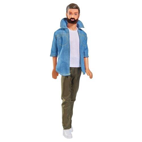 Купить Кукла Steffi Love Кевин с бородой в брюках, 30 см, 5733241029, Simba, Куклы и пупсы