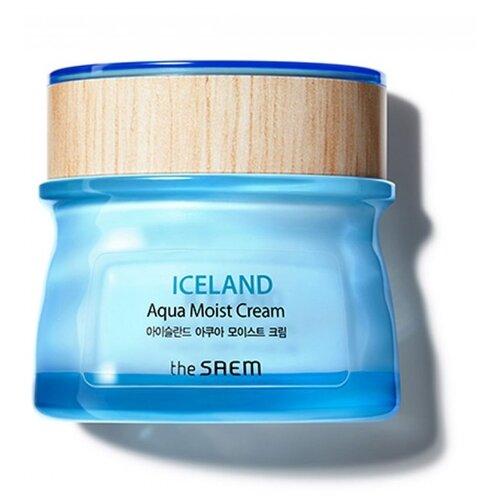 The Saem Iceland Aqua Moist Cream Крем для лица увлажняющий, 60 мл belif aqua bomb крем увлажняющий для лица aqua bomb крем увлажняющий для лица
