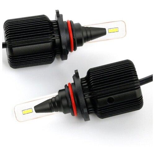 Лампа автомобильная светодиодная Vizant J1 цоколь HB3 9005 Seoul-csp 4500lm 5000k 2 шт. kygo seoul