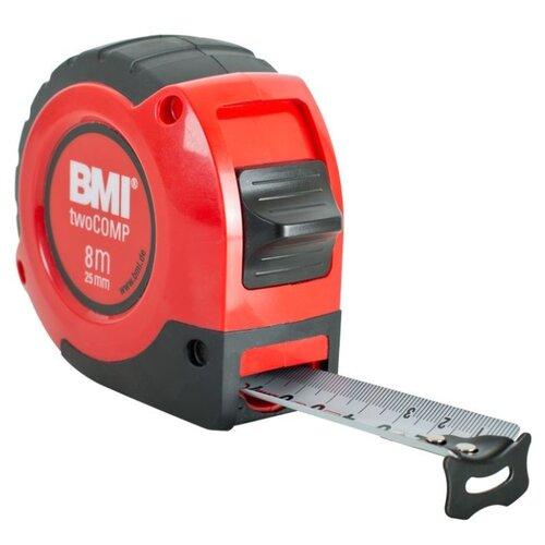 Измерительная рулетка BMI twoCOMP 472841021M 25 мм x 8 м рулетка bmi radius 50m стальная лента