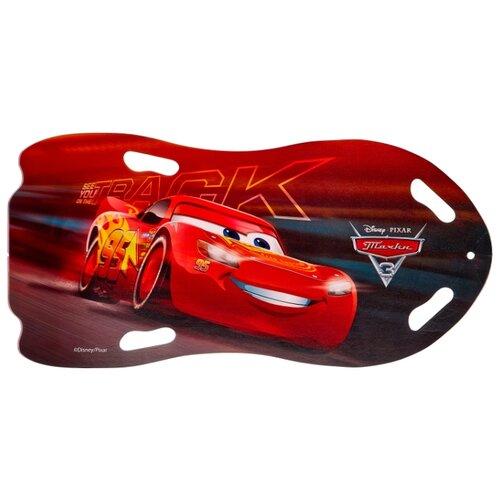 Ледянка 1 TOY Тачки (Т10840) красный/черный ледянка 1 toy тачки т11008 красный серый