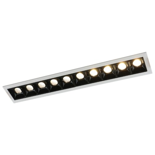 Встраиваемый светильник Arte Lamp Grill A3153PL-10BK встраиваемый светодиодный светильник artelamp a3153pl 3bk