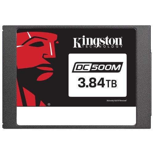 Купить Твердотельный накопитель Kingston SEDC500M/3840G черный
